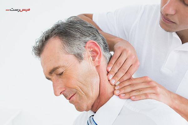 ۴ نوع ماساژ آرتروز گردن