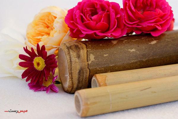ماساژ با چوب بامبو